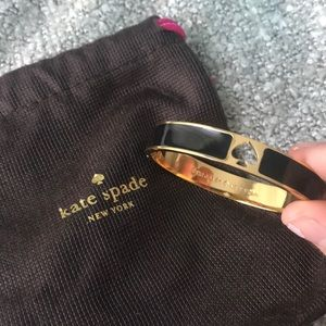 kate spade Jewelry - Kate spade black and gold bracelet